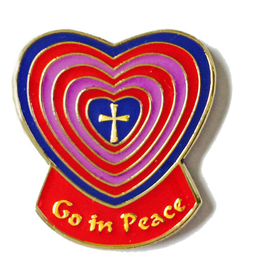 Go In Peace Pin | jptwo.com